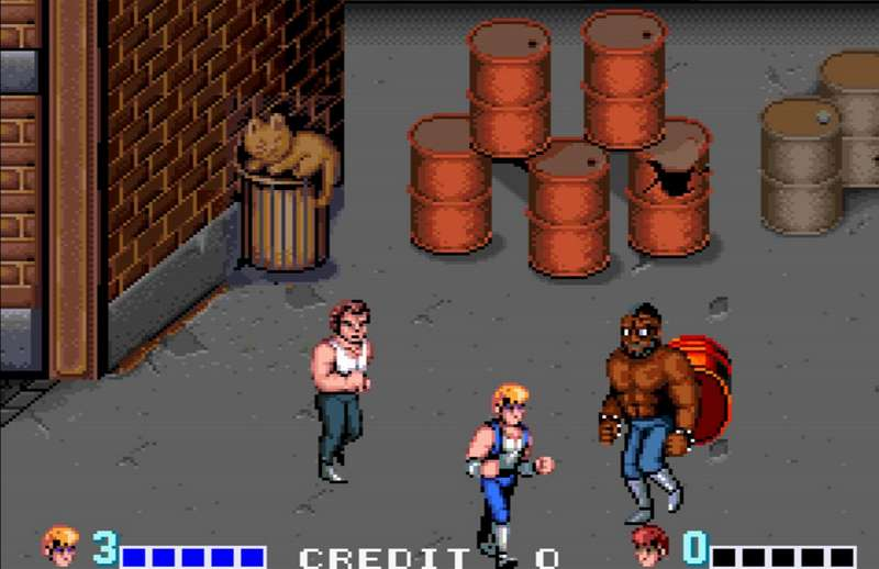 10. Double Dragon