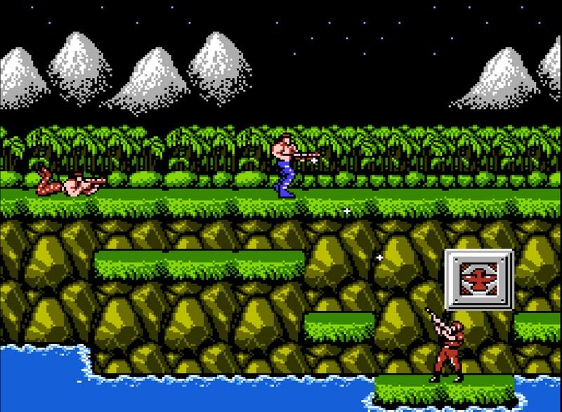 10. Contra (1987)
