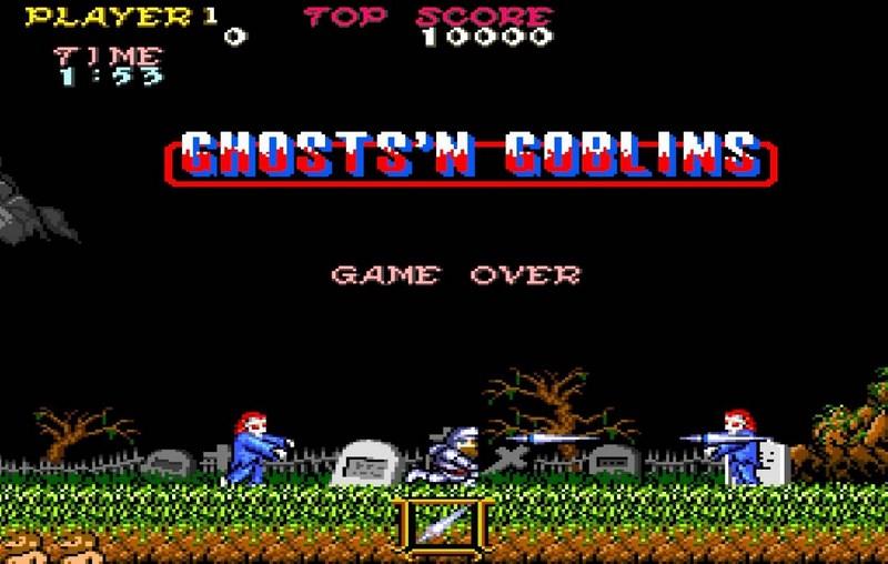 1. Ghosts'n Goblins (1988)