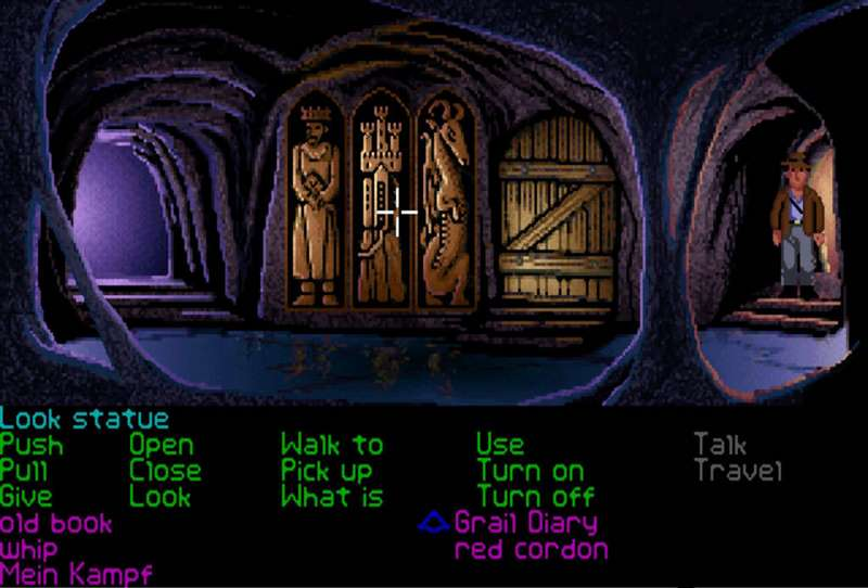 5. Indiana Jones and the Last Crusade: The Graphic Adventure