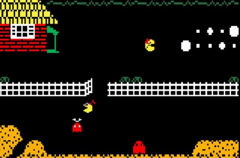 Jr. Pac-Man per Intellivision