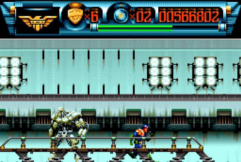 Judge Dredd - SNES