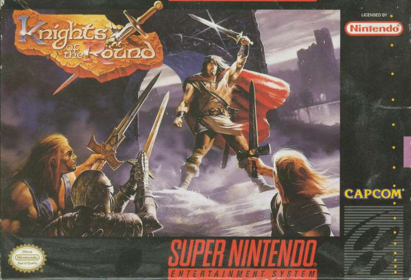 Knights of the Round - SNES