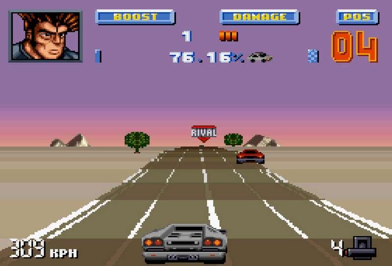 Lamborghini American Challenge - SNES