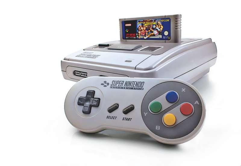 1. Super Nintendo