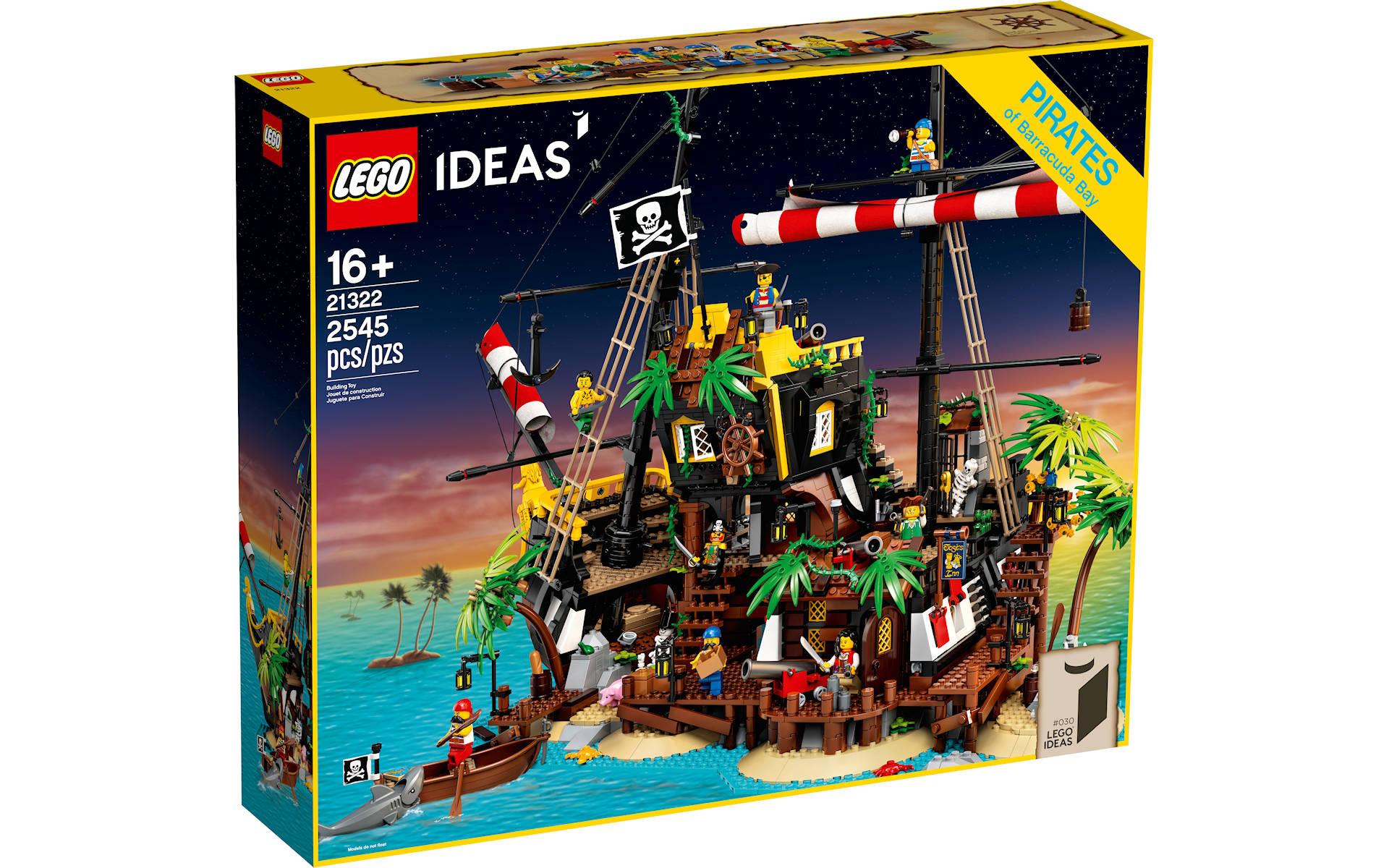LEGO Pirati di Barracuda Bay 21322