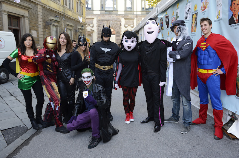Cosplayers al Lucca Comics
