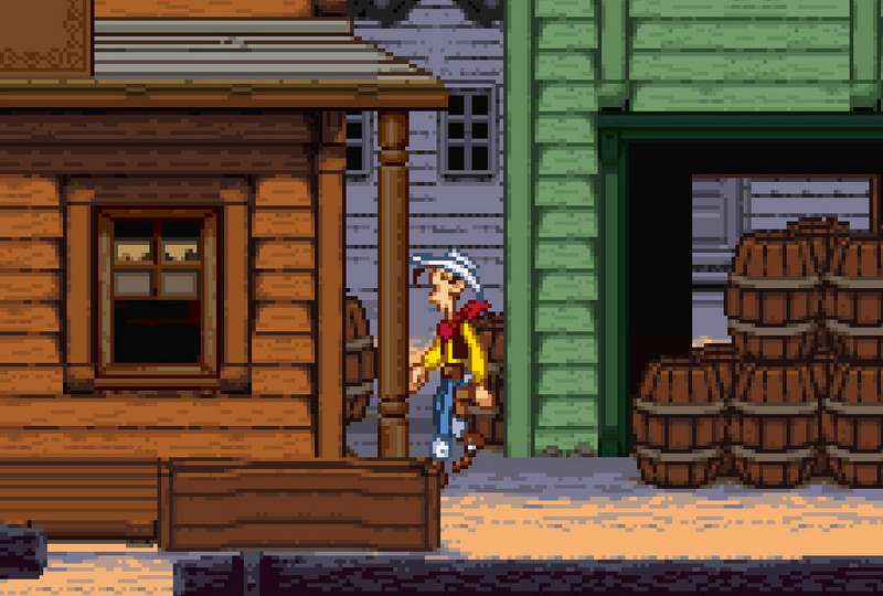 Lucky Luke - SNES