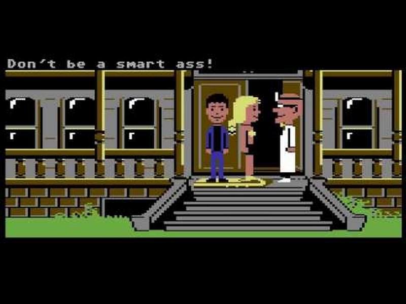 Maniac Mansion - Commodore 64