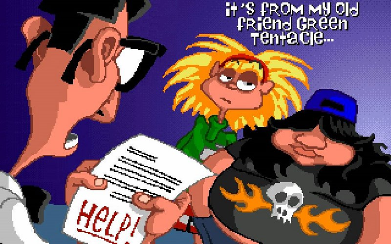 Maniac Mansion: Day of the Tentacle - LucasArts (1993)