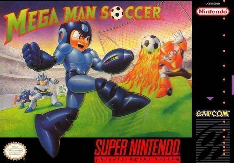 Mega Man Soccer - SNES