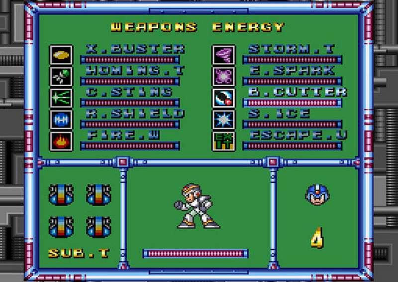 Mega Man X - Super Nintendo