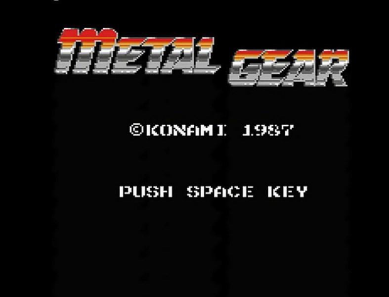 Metal Gear - Konami (1987)