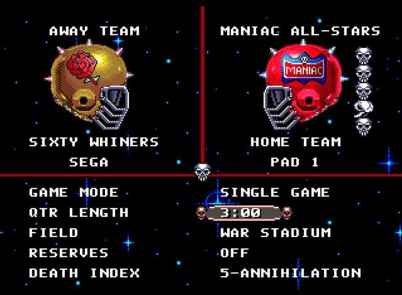 Mutant League Football - Sega Mega Drive