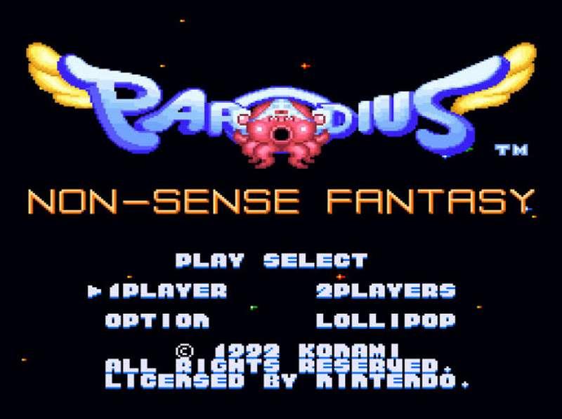 Parodius - SNES