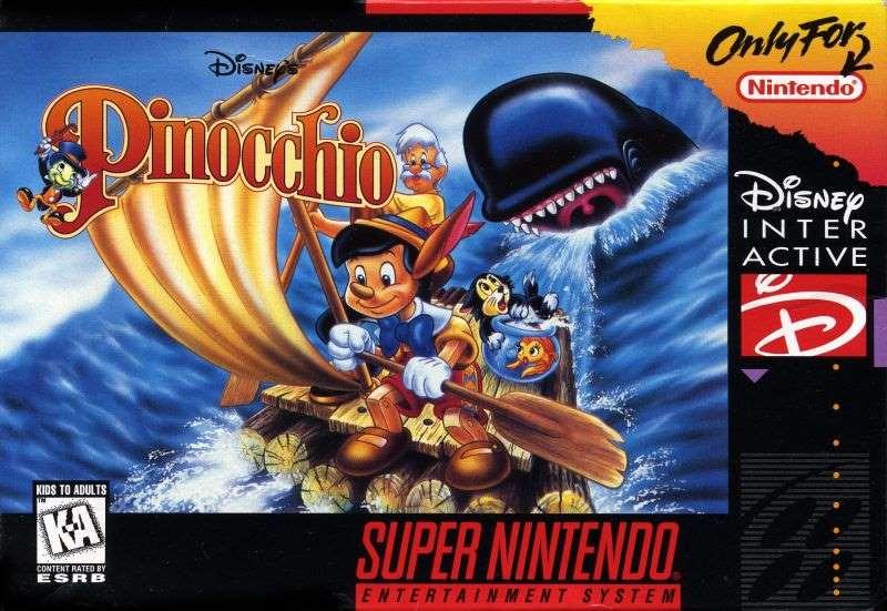 Pinocchio - SNES
