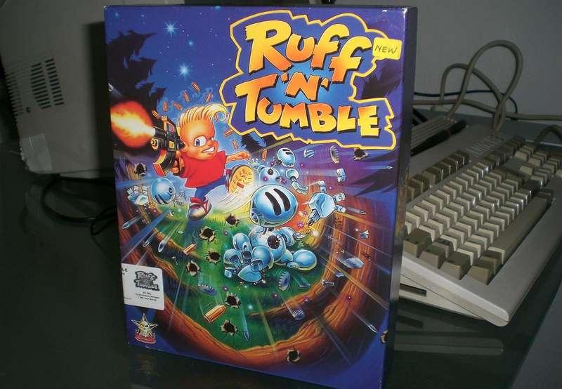 Ruff 'n' Tumble - Amiga