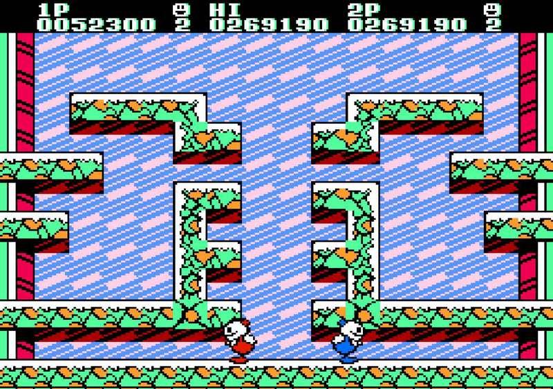 Snow Bros - NES