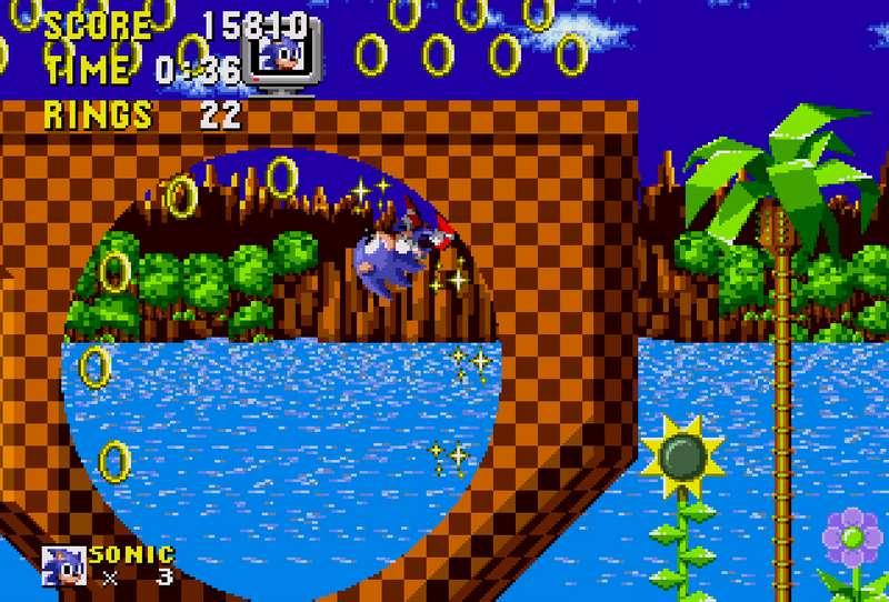 Sonic the Hedgehog - Sega Mega Drive