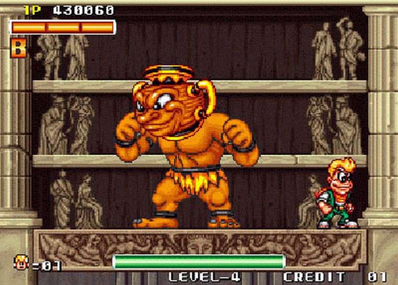 Spinmaster - Neo Geo