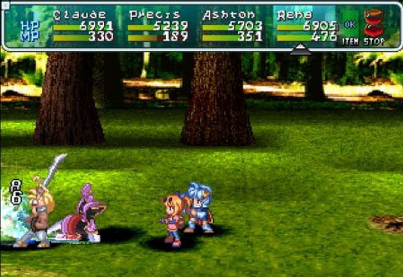 Star Ocean The Second Story - PS1