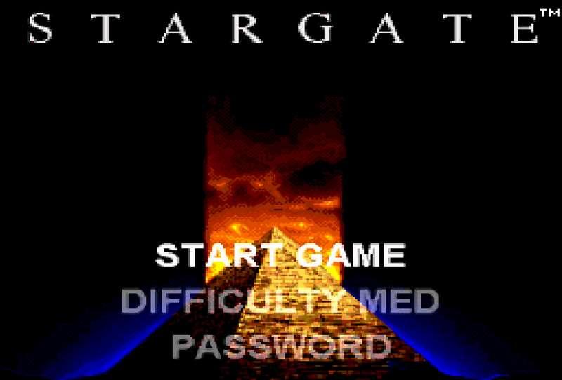 Stargate - SNES
