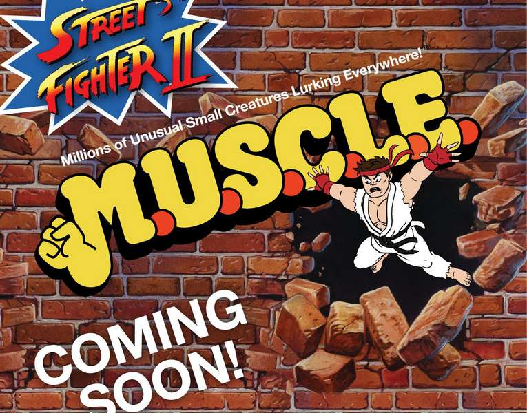 Street Fighter 2 MUSCLE