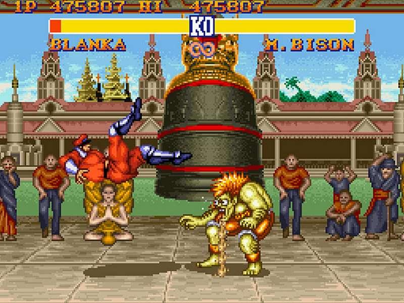 Street Fighter II The World Warrior - SNES