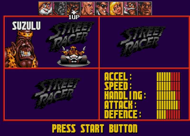 Street Racer - SNES
