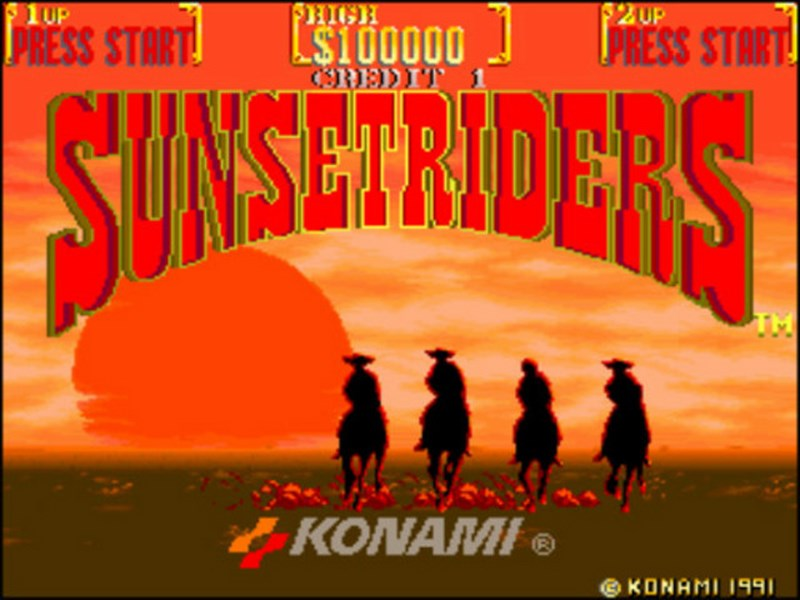 Sunset Riders - SNES