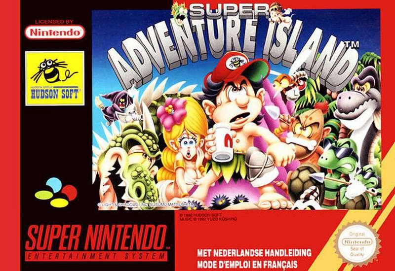 Super Adventure Island - SNES