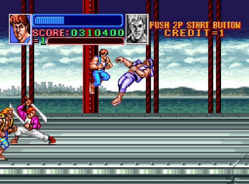 Super Double Dragon - SNES