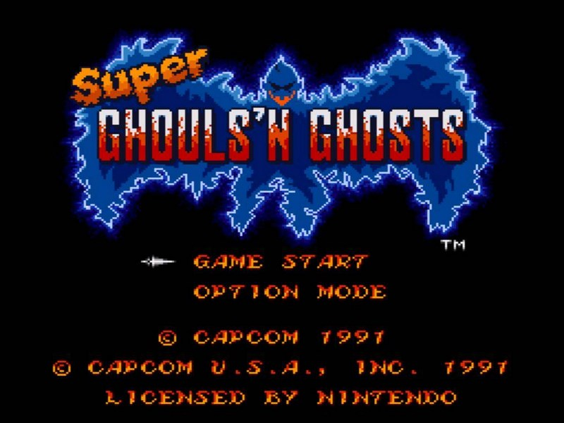 Super Ghouls n Ghosts - SNES