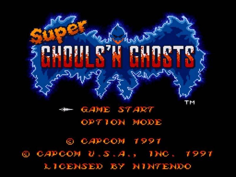Super Ghouls n Ghosts - SNES