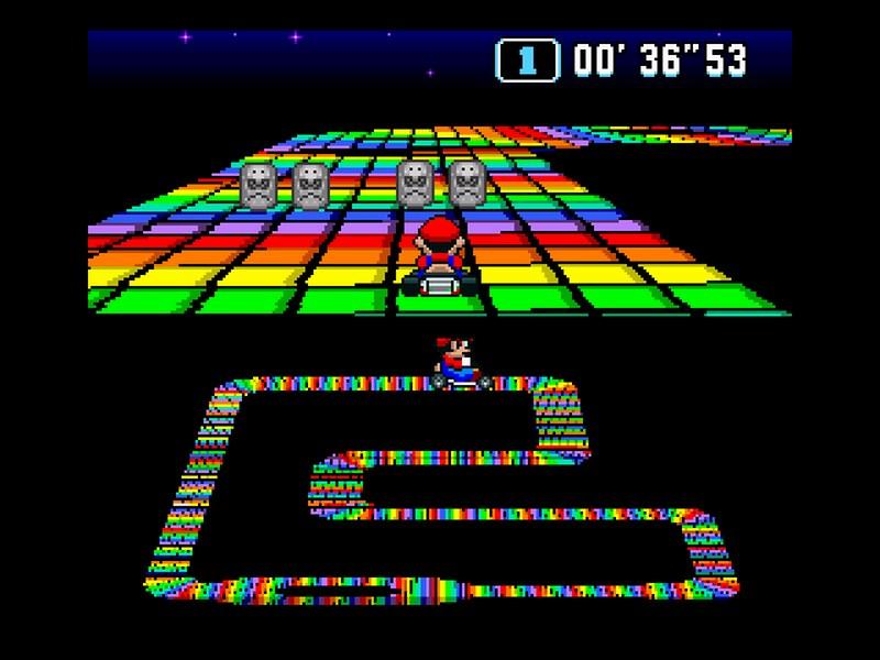 Super Mario Kart - SNES