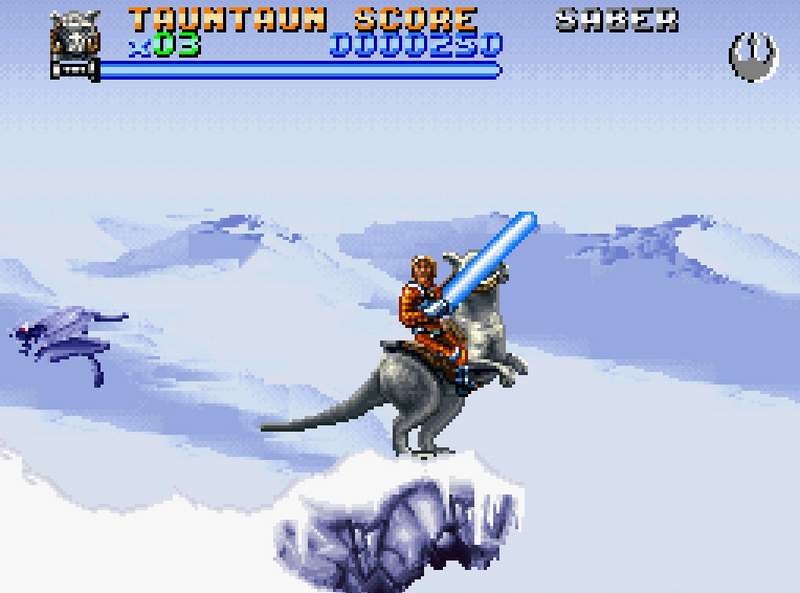 Super Star Wars The Empire Strikes Back - SNES