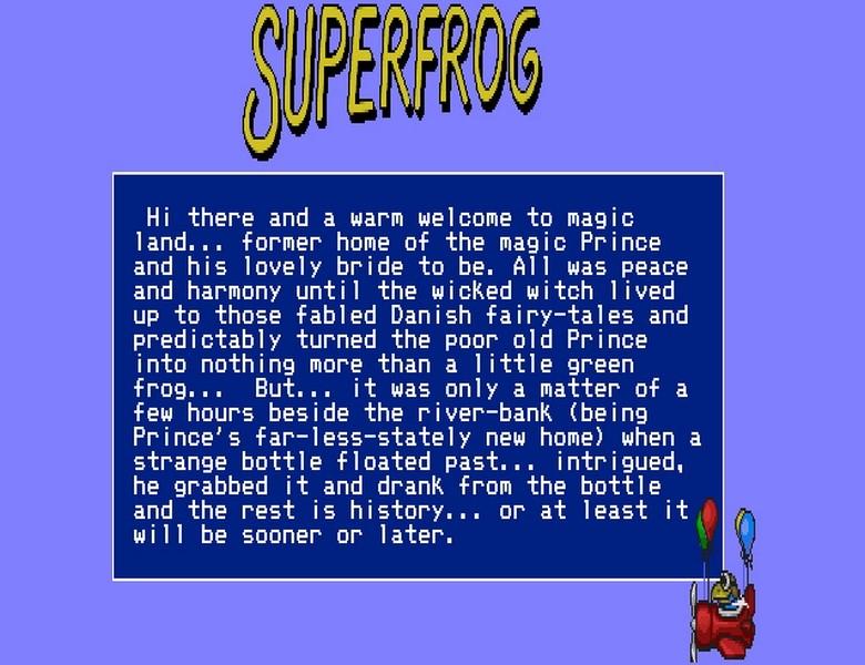 Superfrog - Amiga