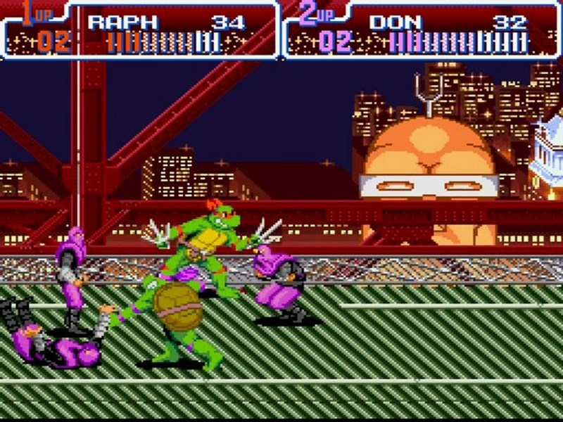Teenage Mutant Ninja Turtles IV Turtles In Time - SNES