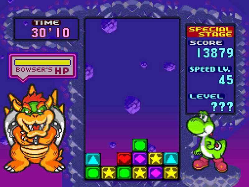 Tetris Attack - SNES