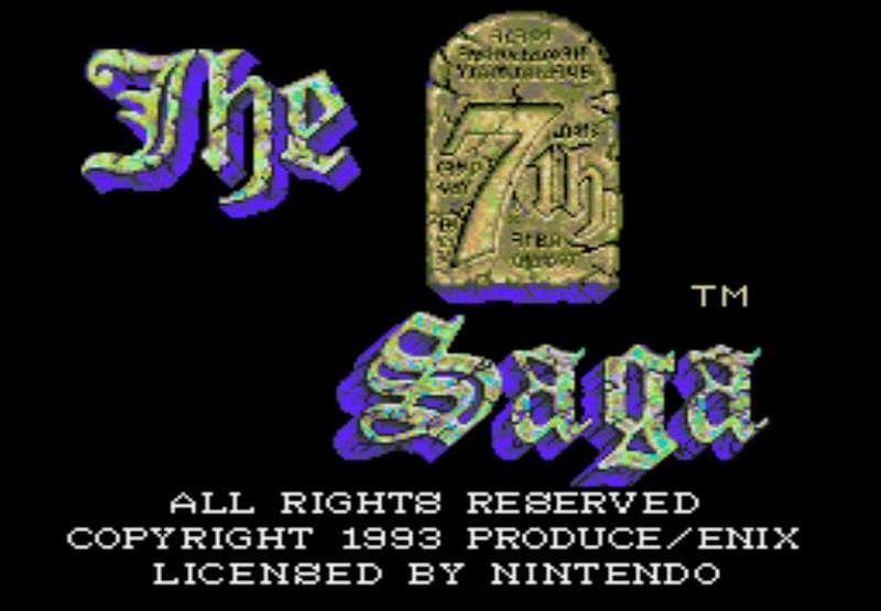The 7th Saga - SNES
