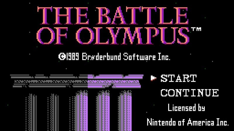 The Battle of Olympus - NES