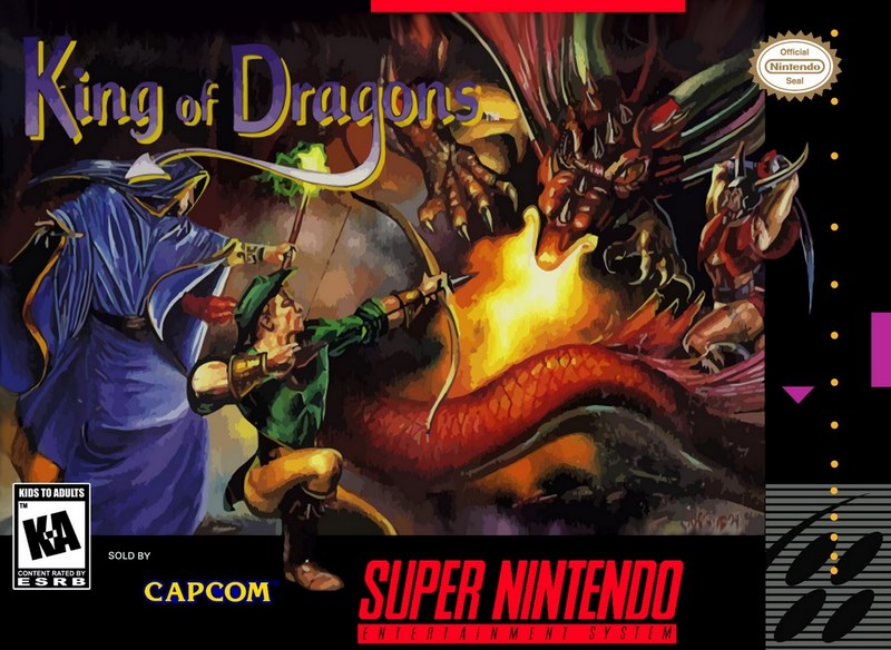 The King of Dragons - Capcom (1991)