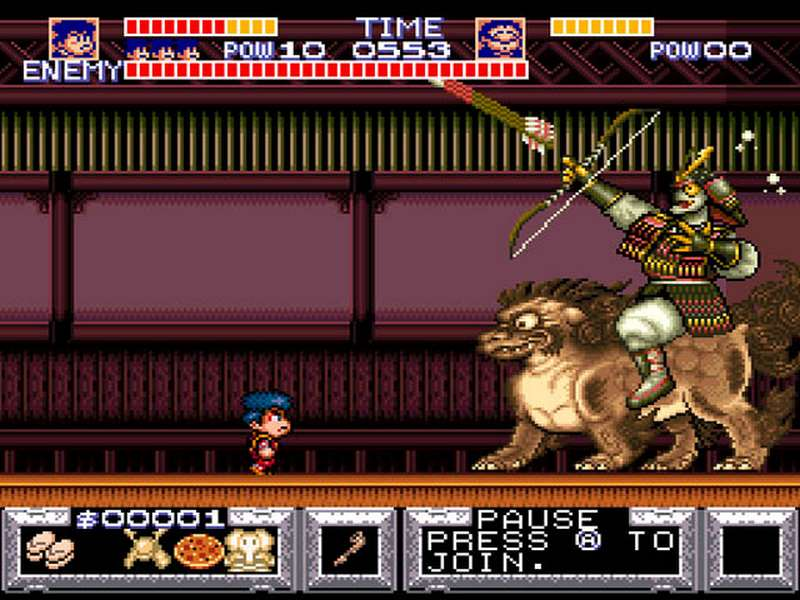 The Legend of the Mystical Ninja - SNES