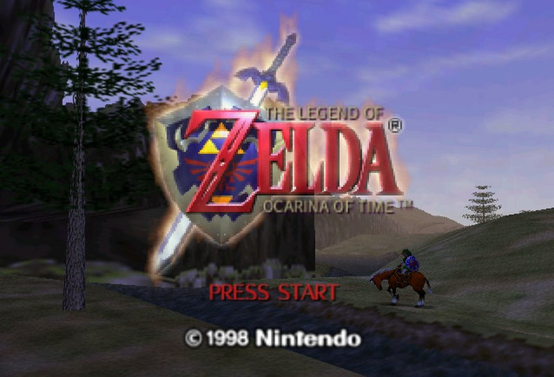 The Legend of Zelda Ocarina of Time - Nintendo 64