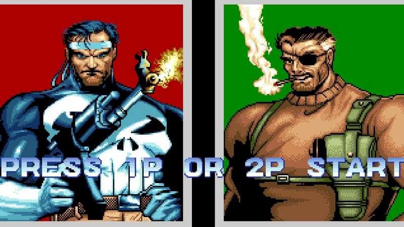 The Punisher - Arcade