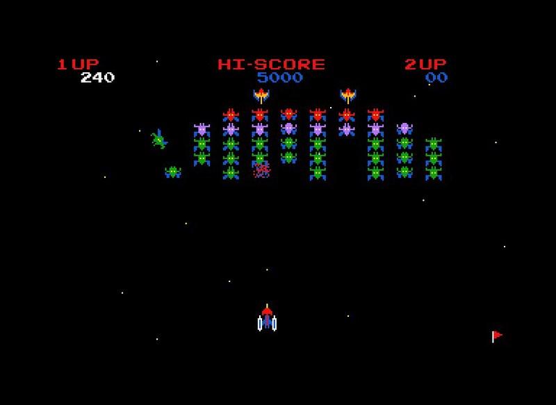 14. Galaxian (Namco - 1979)