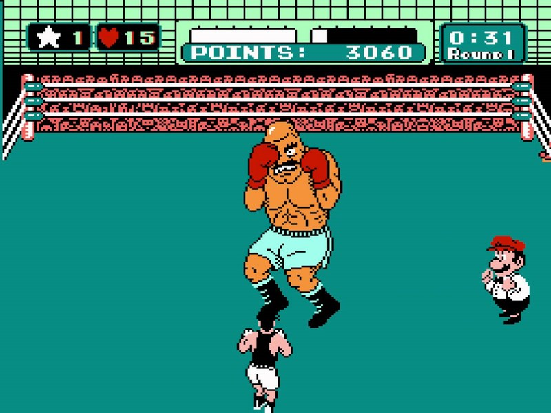 1. Punch-Out (Nintendo - 1984)