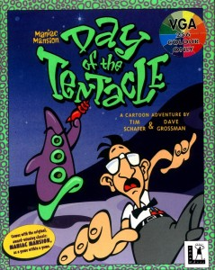 Maniac Mansion Day of the Tentacle 1