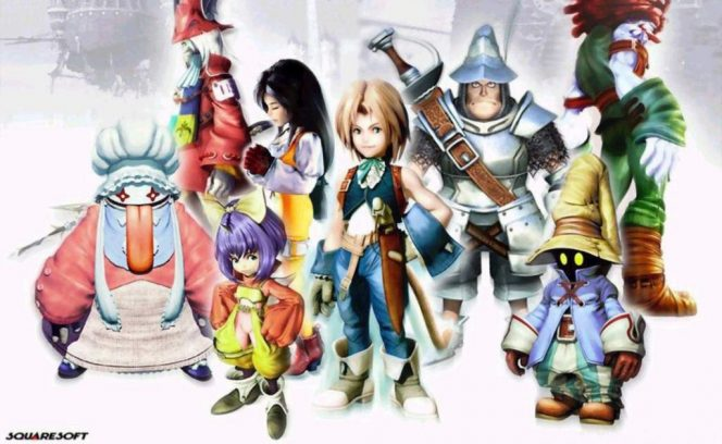 Final Fantasy IX - Squaresoft (2000) videogame