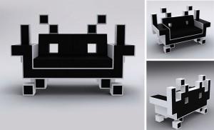 Il divano di Space Invaders 4
